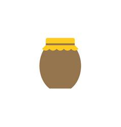 jar icon flat design icon vector image vector image