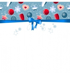 blue frame with contour balls vector image