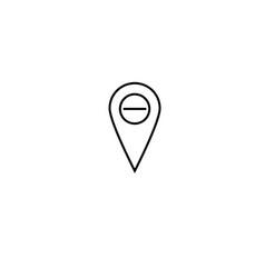 Delete placeholder icon vector