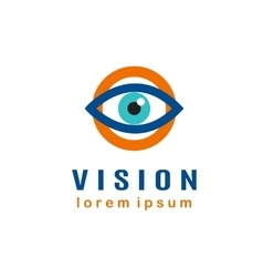Eye Logo template vector