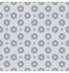 Flower seamless pattern 9 vector