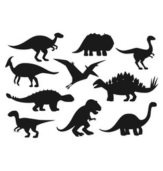 Jurassic park dinosaurs dino monsters reptiles vector