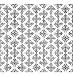 seamless pattern line decoration abstract vector image