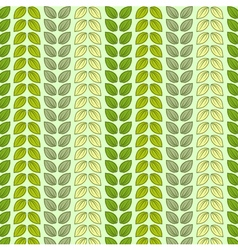 Seamless pattern with leaves in pastel colors vector image