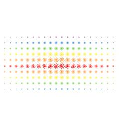 Spiral galaxy spectral halftone matrix vector
