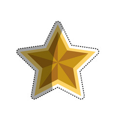 Star award symbol vector