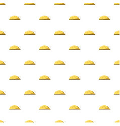 Yellow tent pattern vector