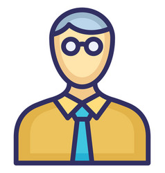 Young boy icon which can easily modify or vector