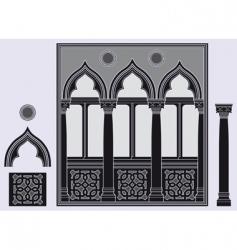 three light window vector image vector image