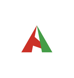 A logo red green symbol element vector