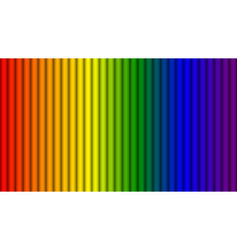 Abstract rainbow colors stripes background vector