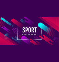 Abstract sport background active motion dynamic vector