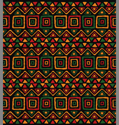 african tribal art traditional africa seamless vector image