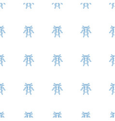 Ant icon pattern seamless white background vector