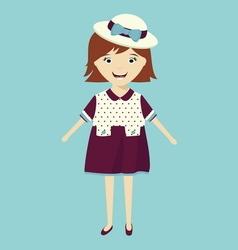 Bride cartoon vector image