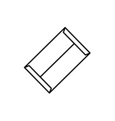 File envelope icon vector