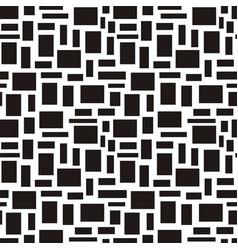 Foursquare geometric seamless pattern vector