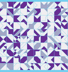 Intricate geometrical seamless pattern design vector