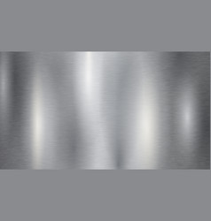 Metal silver background vector