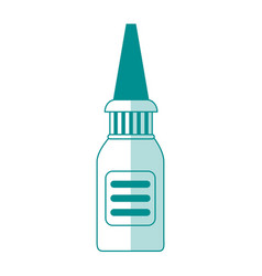 Nasal irrigator healthcare related icon image vector