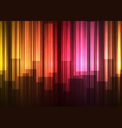 red falling speed bar overlap in dark background vector image