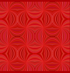 red seamless hypnotic abstract curved ray burst vector image
