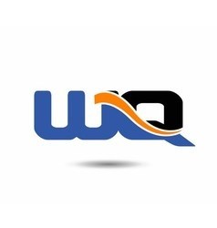 WQ initial company group logo vector