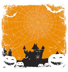 halloween isolated background vector image vector image