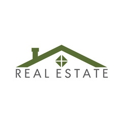 House abstract real estate design template vector image vector image