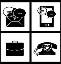 Shopping online design vector image