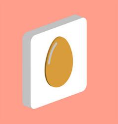 chicken egg computer symbol vector image