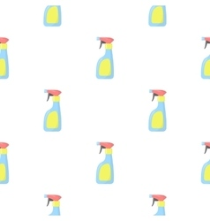 Cleaner spray cartoon icon for web vector