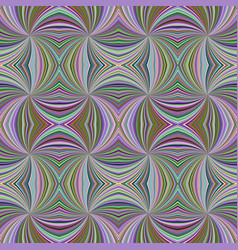 Colorful seamless abstract hypnotic swirling ray vector