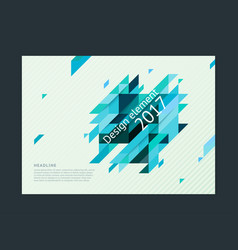 cover design template creative concept vector image
