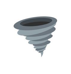 hurricane icon flat style vector image