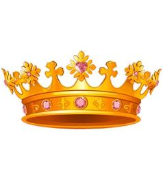 Royal Crown vector image vector image