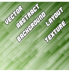Green Diagonal Background vector image