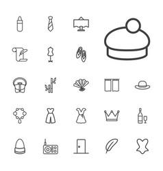 22 elegance icons vector