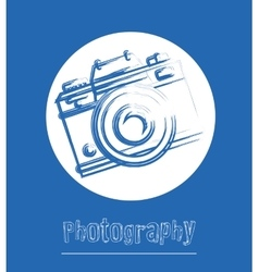 camera icons design vector image