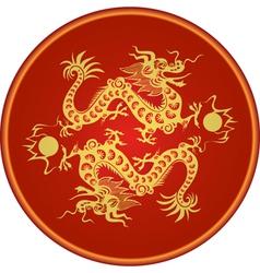Dragon chinese goroscop vector