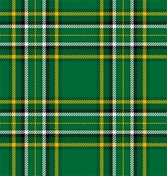 Irish National Tartan vector image