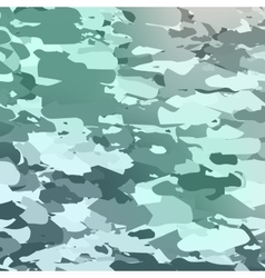 Military camouflage pattern Hand drawn vector