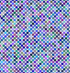 Multicolored abstract dot background design vector image