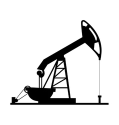 oil rig icon image vector image