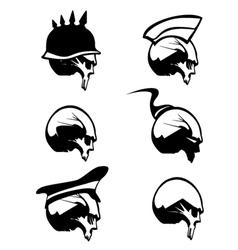 Skull Silhouette vector image