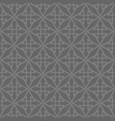 Tile pattern with black print on grey background vector
