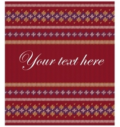 Colorful striped pattern on burgundy background vector
