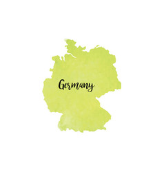 abstract germany map vector image
