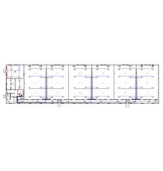 architectural sketch vector image