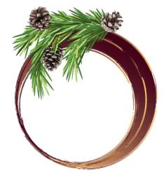 circle cone vector image